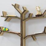 mini oak tree shelf bark 1200